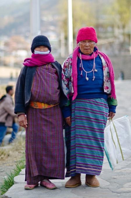 bhutan street fashion