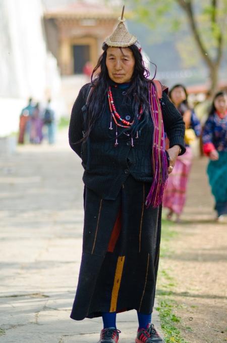 street fashion bhutan