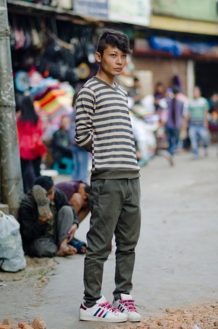 street fashion mizoram india