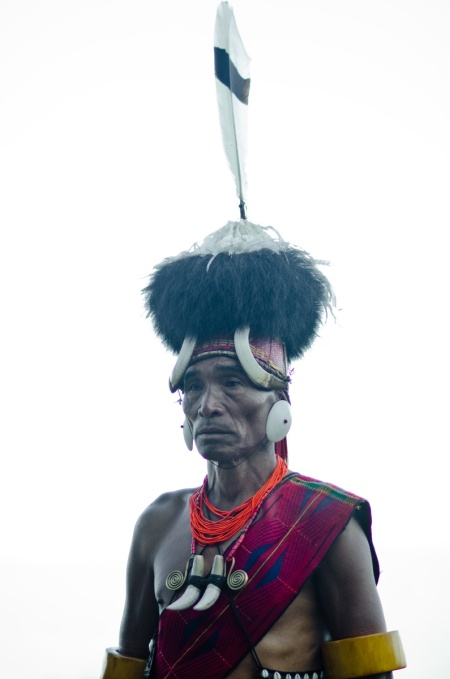 naga man street fashion nagaland india
