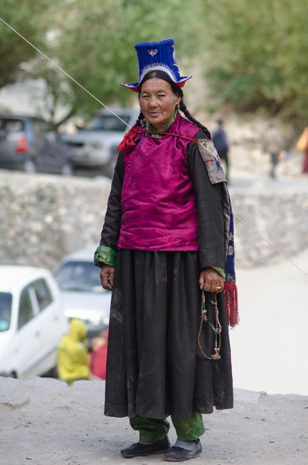 street fashion ladakh india