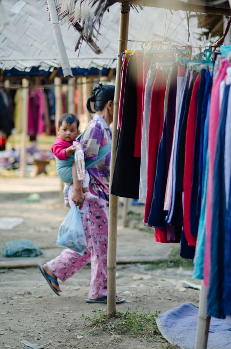 street fashion nagaland