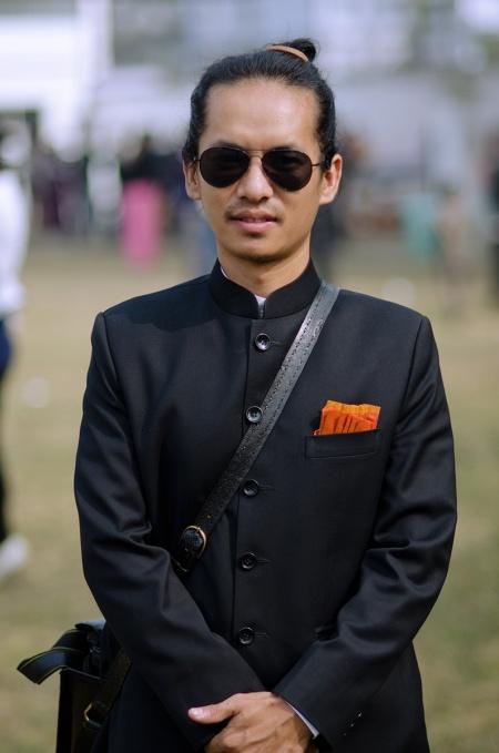 street fashion nagaland india