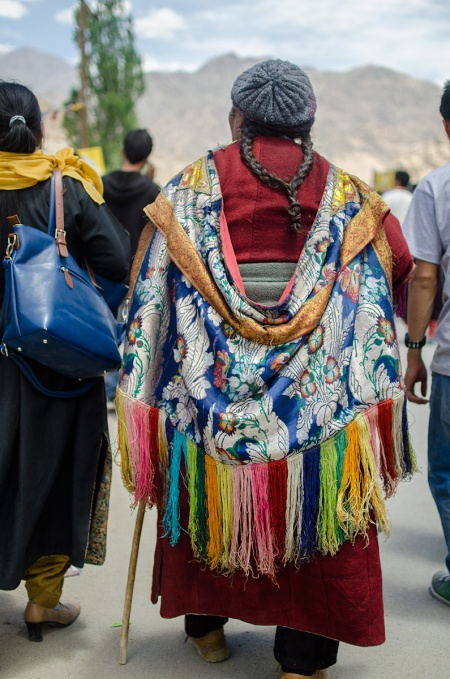 ladakhi woman fashion bok