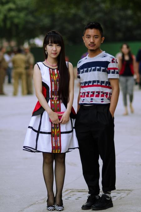 mizoram people fashion style delhi