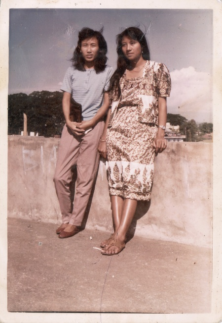 fashion street style women nagaland 1980