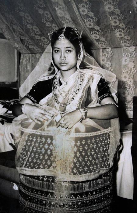 manipur bride style fashion india