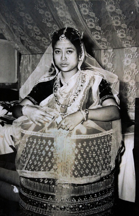 manipur bride style fashion india