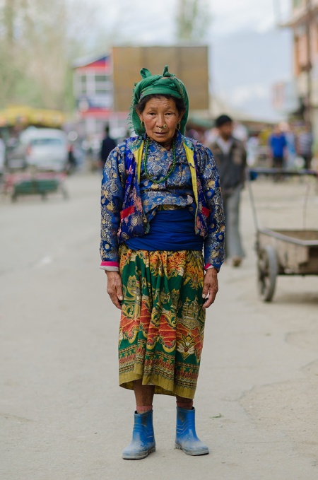 street style fashion ladakh india