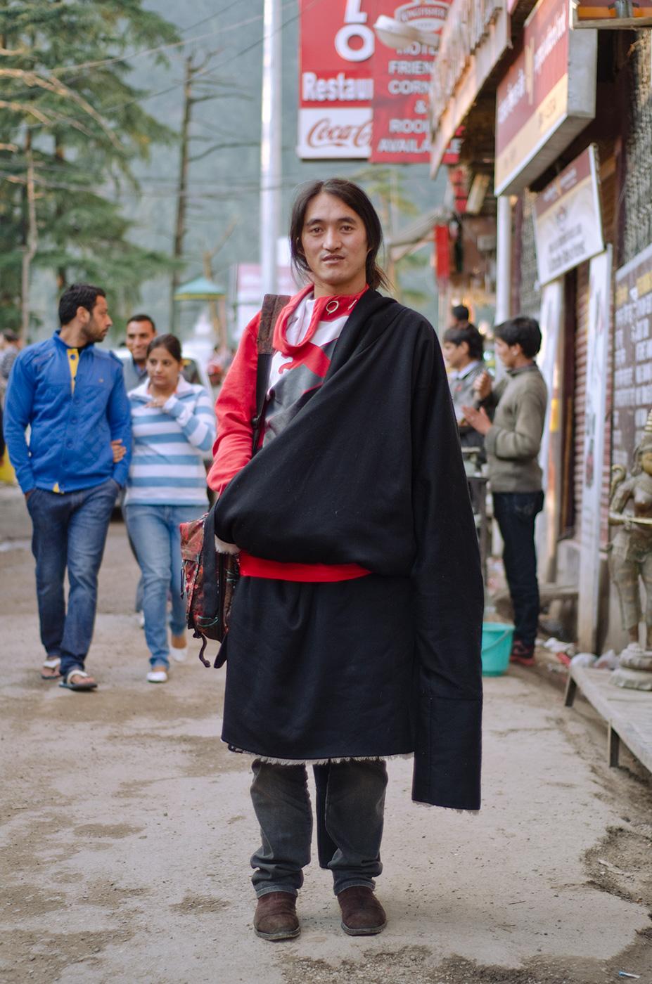 dharamsala street fashion india