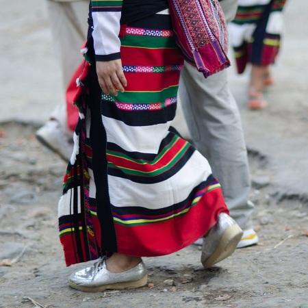 street fashion aizawl mizoram india