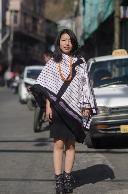 Street fashion aizawl mizoram india