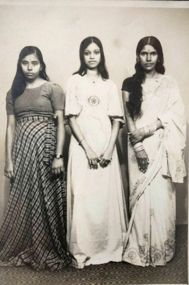 vintage fashion photo india