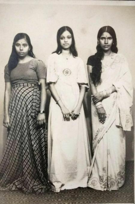 vintage fashion photo india