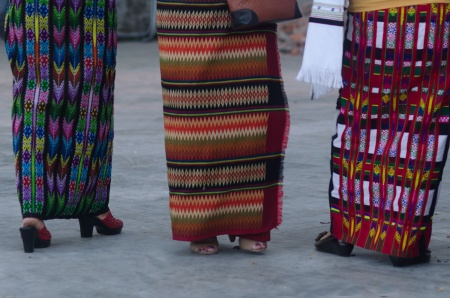 women at church aizawl mizoram