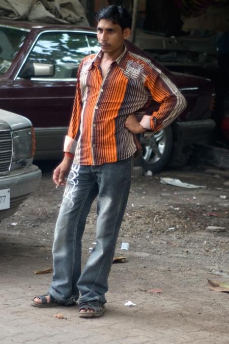 boy in khar street style mumbai