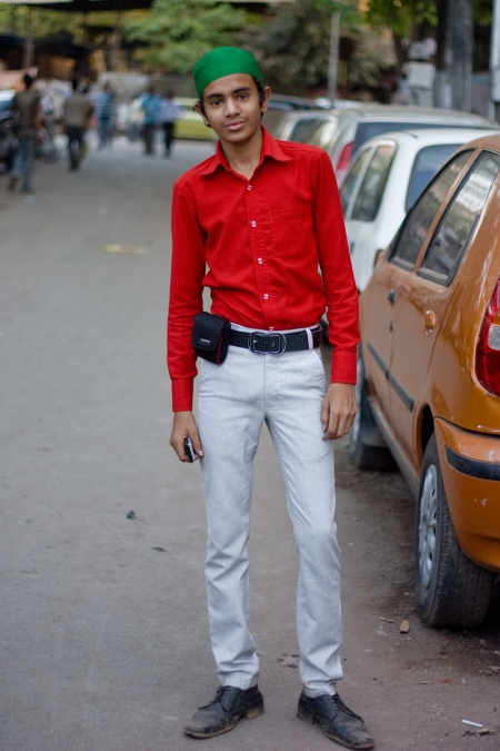boy in khar street style india