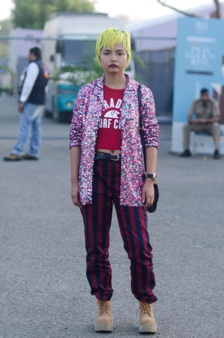 lirminti rongpipi street style delhi fashion week