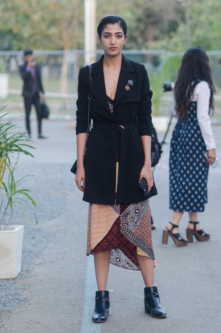 mili soni street style india fashion week
