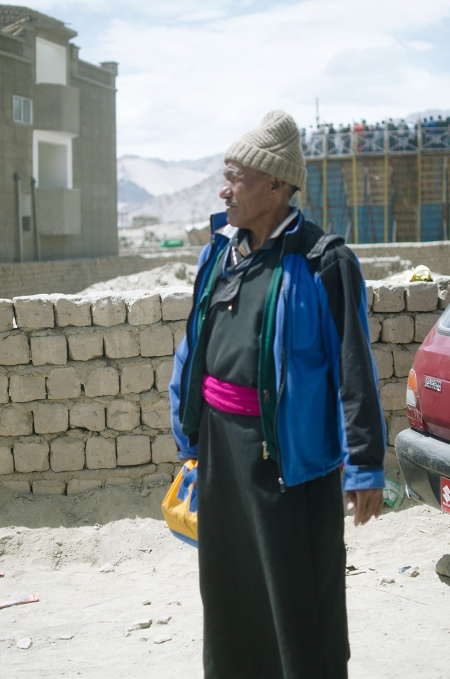 ladakhi man on street