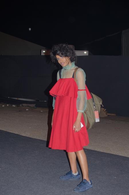 indian fashion model