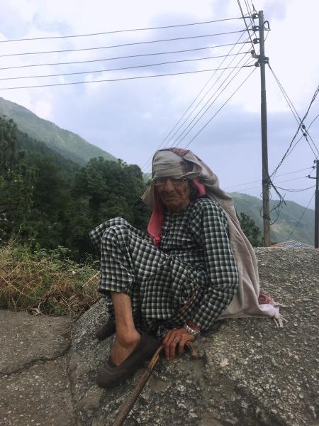 woman in dharamkot