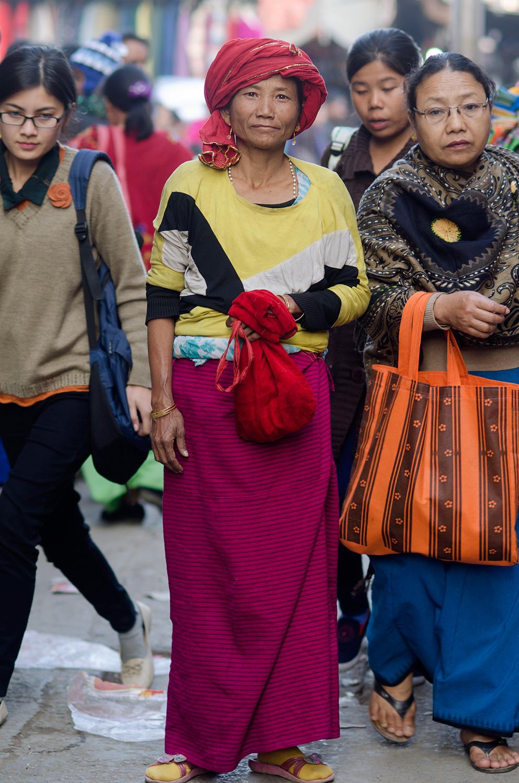 ima keithel manipur street style